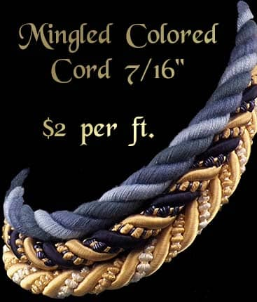 Mingled Colored Cord