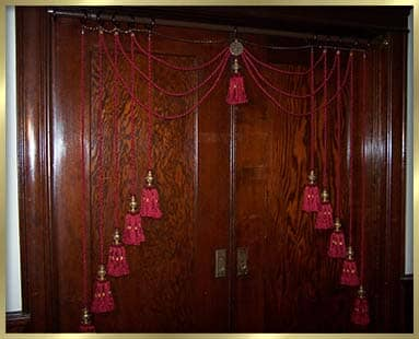 Rope and Tassel Portiere